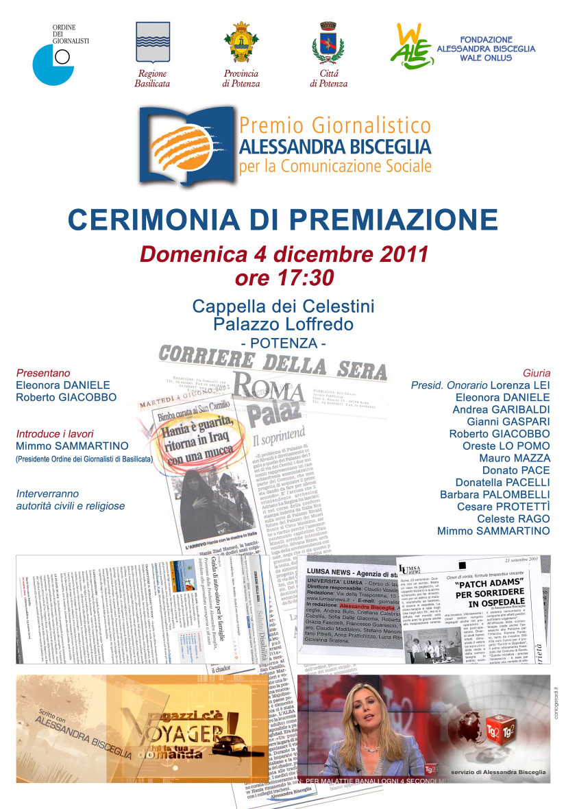 Locandina Cerimonia Premiazione_04122011