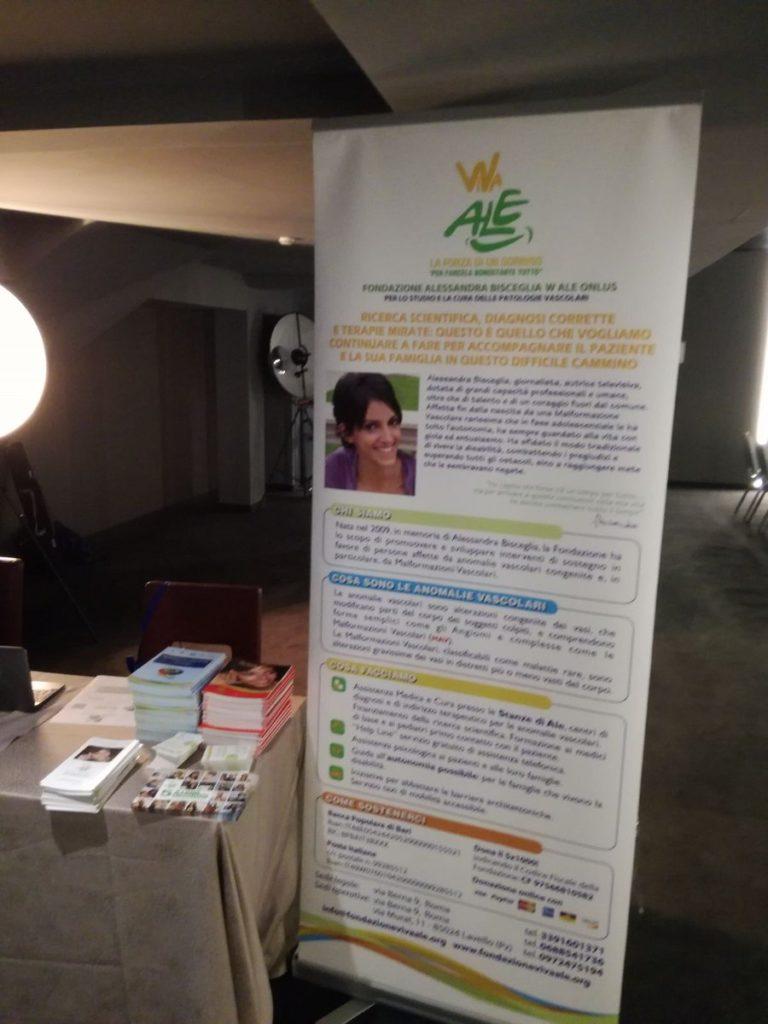 Il desk della Fondazione all'Assemblea Nazionale LAPET