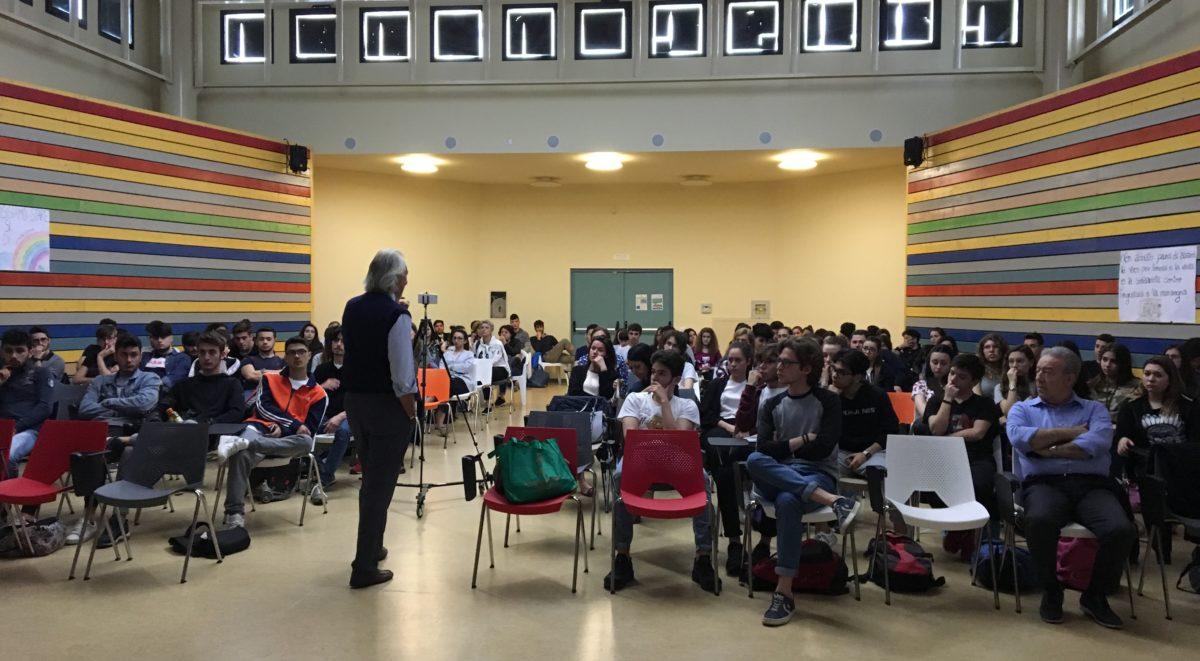 evento formativo con gli studenti dell'istituto G.Solimene di Lavello