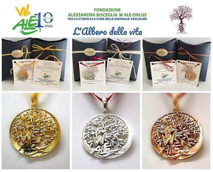 186aa185430000 L'Albero della Vita – Collana o portachiavi – Fondazione Alessandra ...