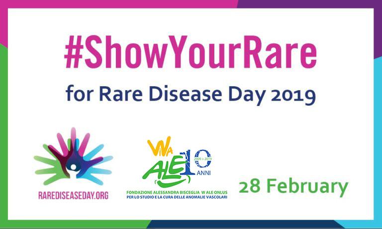 La Fondazione Alessandra Bisceglia partecipa alla XII Giornata delle Malattie Rare