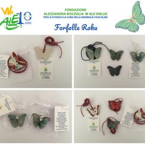Farfalle raku